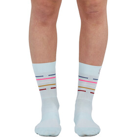 Sportful Vélodrome Socks Women, blue sky multicolor